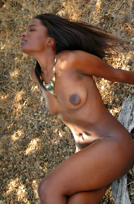 Afrikanerin Nackt